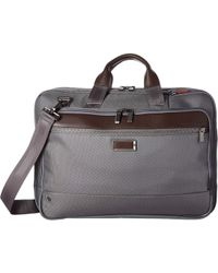 Briggs & Riley @work Large Expandable Brief - Gray