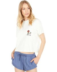 RVCA Forever Short Sleeve Tee - Natural