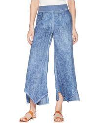 XCVI - Astri Linen Pants (oil Wash London Grey) Women's Casual Pants - Lyst