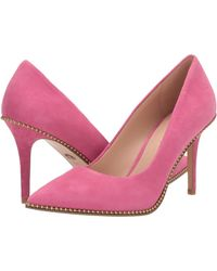 COACH 85 Mm Waverly Pump With Beadchain - Pink