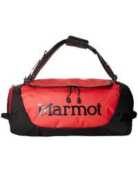 Marmot - Long Hauler Duffle Bag - Small (team Red/black) Duffel Bags - Lyst
