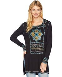 Double D Ranchwear - World Nomad Tunic (black) Women's Clothing - Lyst