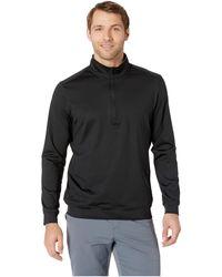 adidas Originals Classic Club 1/4 Zip Pullover - Black