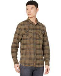 Nifty Genius Truman Outdoor Shirt In Plaid - Brown