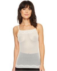 Commando - Perfect Stretch Lace Cami Ca330 (ivory) Women's Sleeveless - Lyst