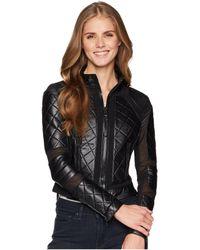 BLANC NOIR - Moto Jacket (pale Pink 1) Women's Jacket - Lyst