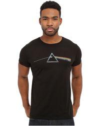 The Original Retro Brand - Vintage Cotton Short Sleeve Pink Floyd Tee (black) Men's T Shirt - Lyst