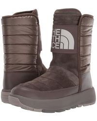 The North Face Ozone Park Winter Pull-on Boot - Natural