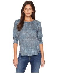 Nally & Millie - Grid Print Long Sleeve Top (multi) Women's Clothing - Lyst