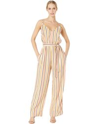 44e47385ad2e4 INC International Concepts I.n.c. Petite Embroidered Halter Jumpsuit,  Created For Macy's in Black - Lyst