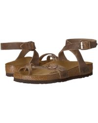 Birkenstock - Yara (tobacco) Women's Sandals - Lyst