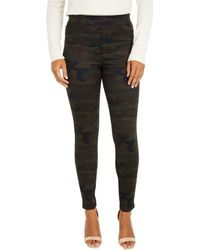 Sanctuary - Runway Ponte Leggings With Functional Pockets In Forest Camo - Lyst