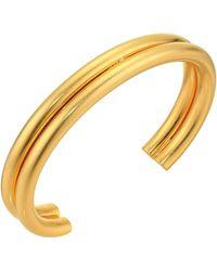Madewell - Double Cuff Bracelet - Lyst