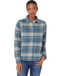 Mountain Hardwear Plusher Long Sleeve Shirt - Blue