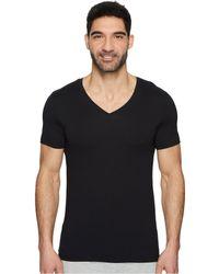 Hanro - Cotton Superior V-neck Shirt (white) Men's Pajama - Lyst