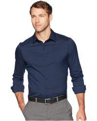 Calvin Klein - Men's French Placket Shirt - Lyst