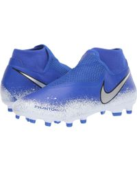 best website 8277e ca454 Nike - Phantom Vsn Academy Df Mg (racer Blue chrome white) Men s