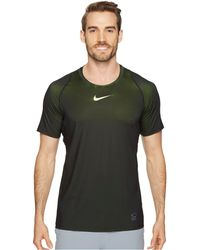 Nike - Pro Colorburst Short Sleeve Training Top - Lyst