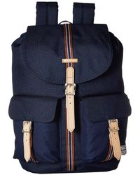 Herschel Supply Co. - Dawson Backpack (black Crosshatch black) Backpack  Bags - 50e7975ba022c