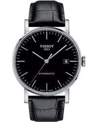 Tissot - Everytime Swissmatic - T1094071605100 (silver/black) Watches - Lyst
