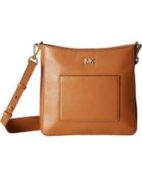MICHAEL Michael Kors - Gloria Pocket Swing Pack (acorn) Bags - Lyst