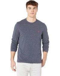 9513daf18 Original Penguin - Long Sleeve Reversible Stripe (dark Sapphire) Men s  Sweatshirt - Lyst