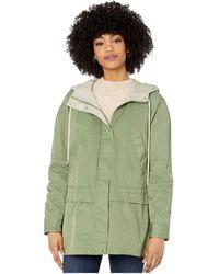Sam Edelman Cotton Jacket With Drop Waist - Green