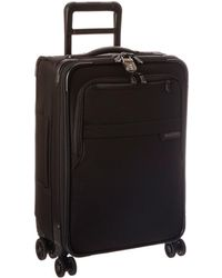 Briggs & Riley - Baseline Domestic Carry-on Expandable Spinner (navy Blue) Carry On Luggage - Lyst
