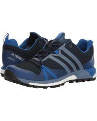adidas Originals - Terrex Agravic Gtx(r) (collegiate Navy/raw Steel/blue Beauty) Men's Shoes - Lyst