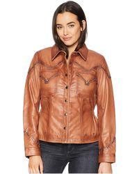 Double D Ranchwear - Highlander Jacket (luggage) Women's Coat - Lyst