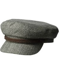 Brixton - Fiddler (smoke Blue) Traditional Hats - Lyst