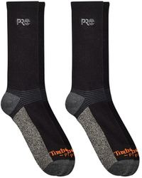 Timberland - 2-pack Crew Socks With Reflective Logo - Lyst