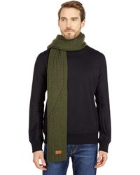 UGG Knit Ribbed Scarf - Brown