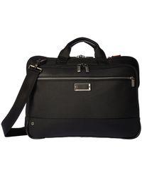 Briggs & Riley - @work Slim Brief (grey) Briefcase Bags - Lyst
