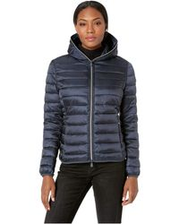 Save The Duck - Iridescent Basic Nylon Jacket (atlantic) Women's Coat - Lyst