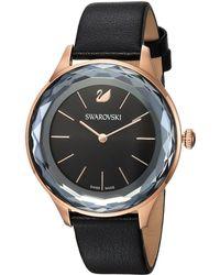 Swarovski - Octea Nova Watch (black) Watches - Lyst