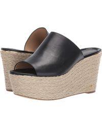 25b3413c4e8 MICHAEL Michael Kors - Cunningham Wedge (optic White Vachetta) Women s Shoes  - Lyst