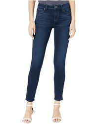 PAIGE Verdugo Ankle Jeans In Orpheum - Brown