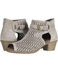 181491f8a22 TOPSHOP Marietta Glitter Platforms Sandals - Lyst
