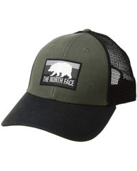 The North Face - Patches Trucker Hat (new Taupe Green tnf Black asphalt d44d3a8464b9
