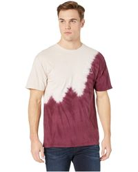 Huf - Peak Tie-dye Short Sleeve Tee (mood Indigo) Men's T Shirt - Lyst