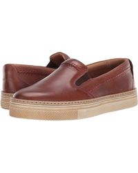 Lucchese After-ride Slip-on - Brown