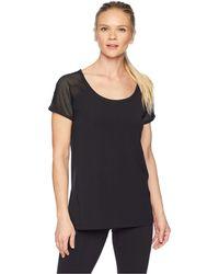 Lorna Jane - Bring It Active Short Sleeve T-shirt (black) Women's T Shirt - Lyst