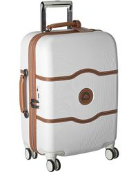 Delsey - Chatelet Hard - 21 Carry-on Spinner Trolley (champagne) Carry On Luggage - Lyst