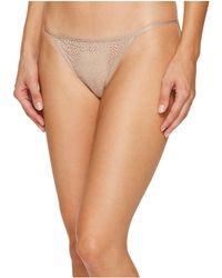 DKNY - Modern Lace String Bikini (champagne) Women's Underwear - Lyst