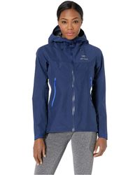 Arc'teryx Beta Lt Jacket (black) Women's Coat - Blue