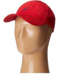 39490526ebdbf7 Nautica Reversible Logo-print Bucket Hat in Blue for Men - Lyst