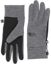 The North Face Etip Gloves - Gray