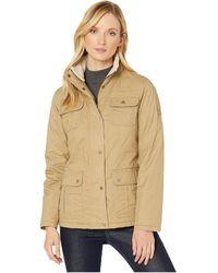 Lauren by Ralph Lauren Waxed Cotton Field Jacket - Natural