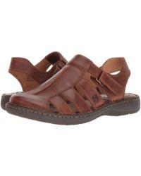 Born - Justice (tan Full Grain Leather) Men's Sandals - Lyst